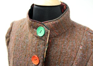 Keep the drafts out with the high collar.
